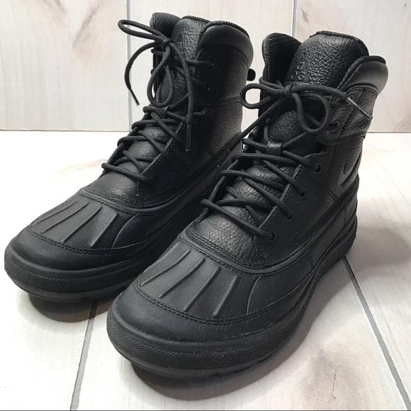 Nike ACG Woodside II Men's Black Lace Up Boot
